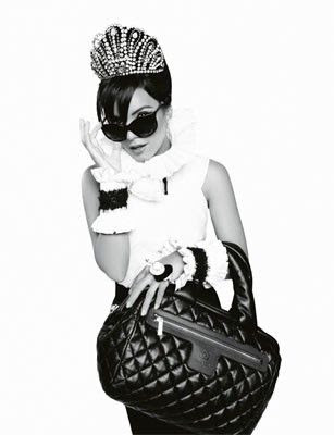 Hmmmmm…Lily Allen as the face of Chanel