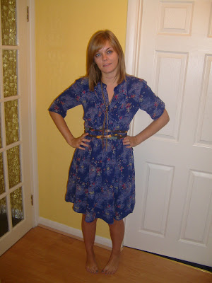 Blue and floral….