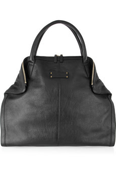 Want it on Wednesday: Alexander McQueen De Manta Leather Tote
