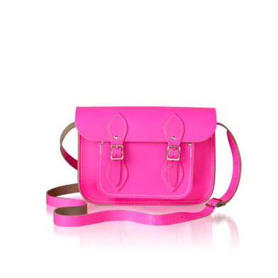 Want it on Wednesday: Fluro Pink Cambridge Satchel