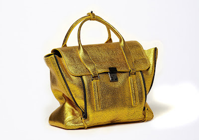 Want it on Wednesday: All Hail the 3.1 Phillip Lim Gold Embossed Pashli Satchel