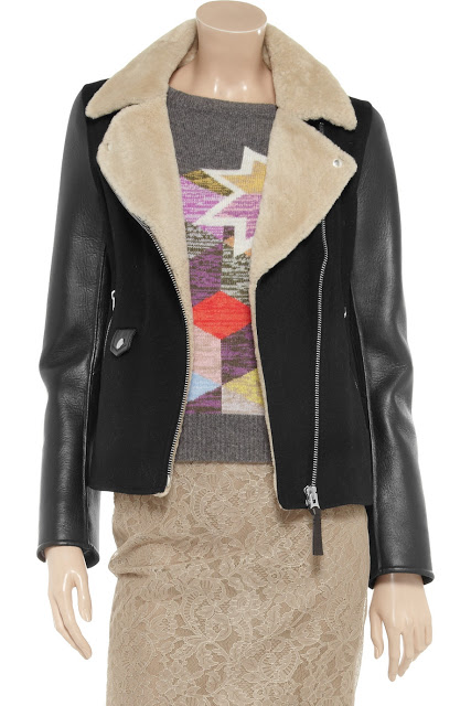 Want it on Wednesday: Mackage Wool-blend and Leather Jacket