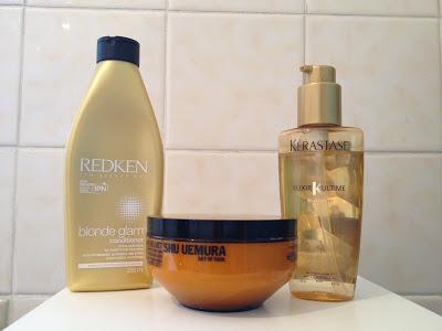 My Three Hair Essentials: Redken, Shu Uemura and Kérastase
