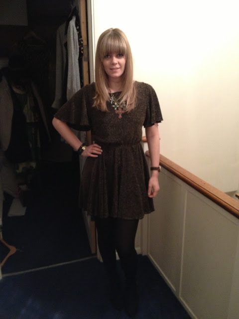 How I Wear Sequins: On a Night Out