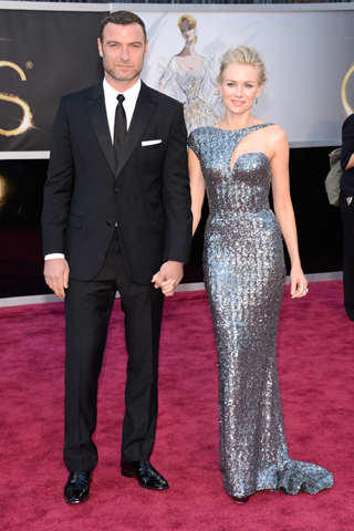Spotted Sparkling: Naomi Watts at the Oscars