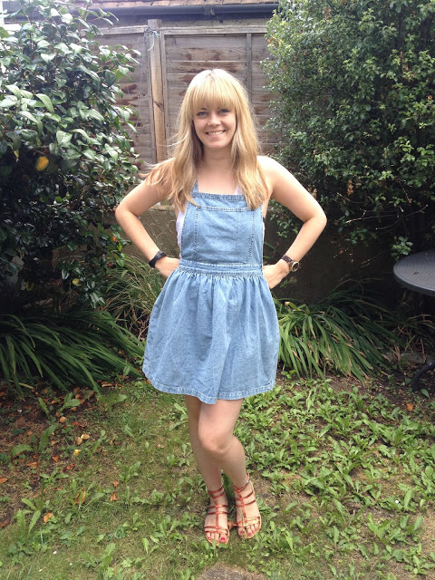 My Hunt for the Perfect Denim Pinafore
