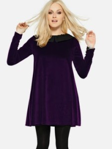 98aff1ec4b88 Want it on Wednesday  Fearne Cotton Velvet Swing Dress – Jo Coates