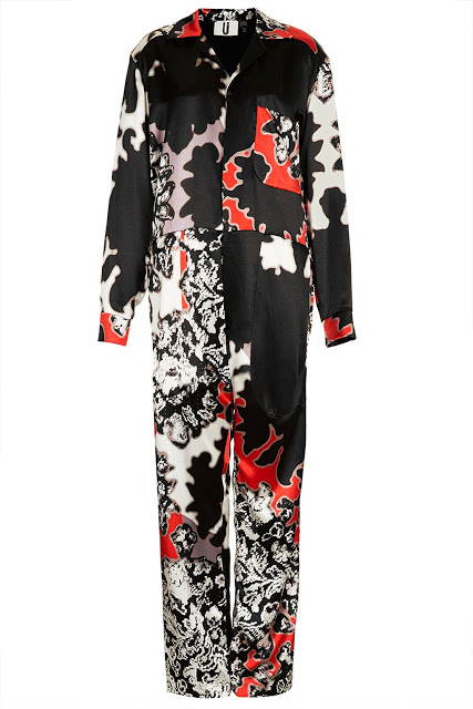 Want it on Wednesday: Printed Satin Jumpsuit