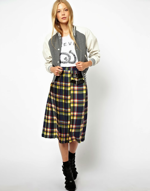 3 of the Best Tartan Midi Skirts on the Web