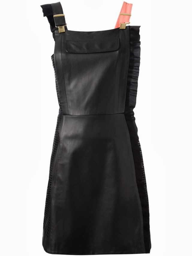 Want it on Wednesday: This Waaaaay Too Expensive Banging Leather Pinafore