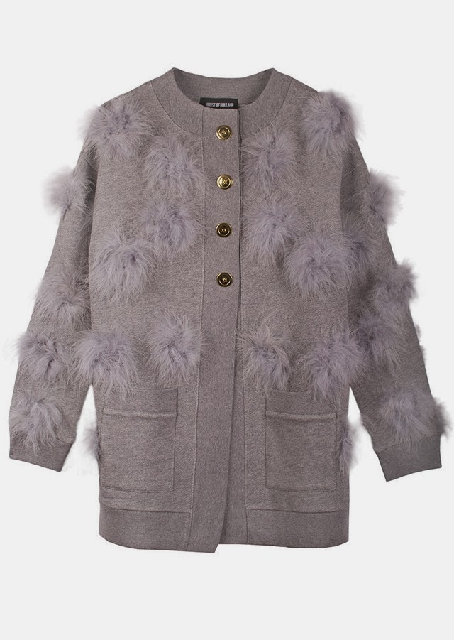 Want it on Wednesday: This Dreamboat Marabou Cardigan