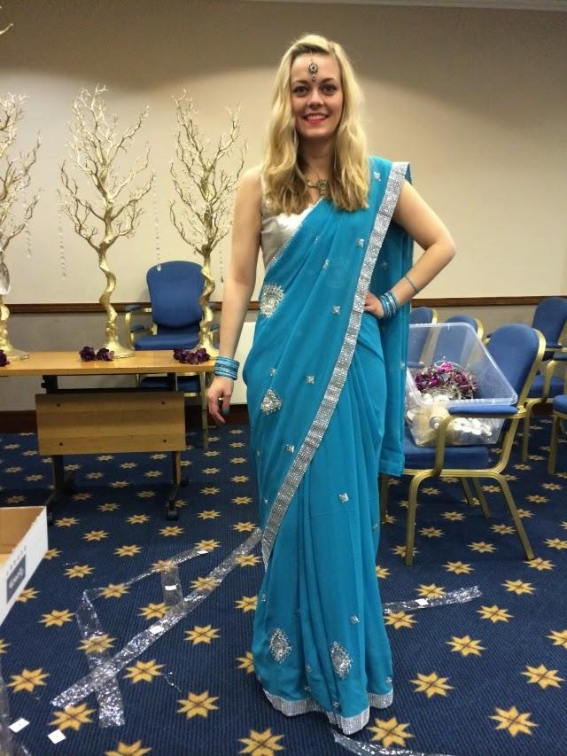 The Day I Rocked A Sari