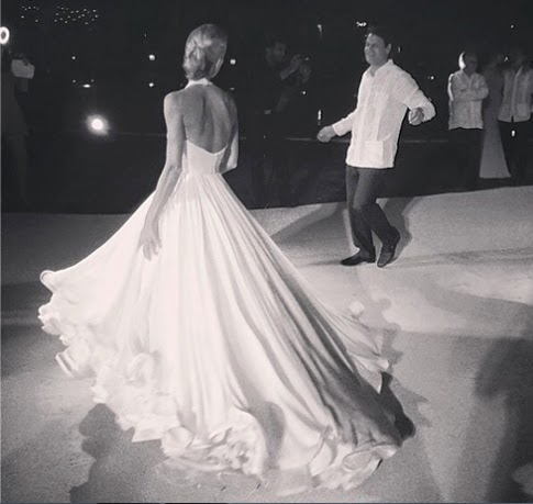 The Most Beautiful Twirling Dream of a Wedding Dress You Ever Did See