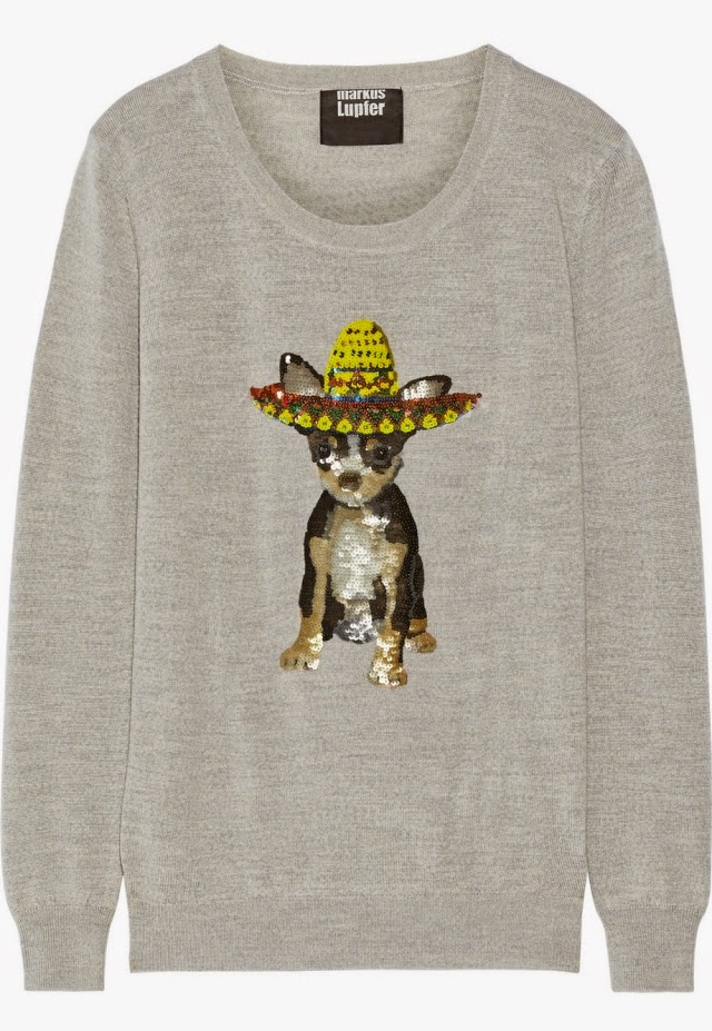 Who Wouldn't Want A Sombrero-Wearing Chihuahua on a Jumper?