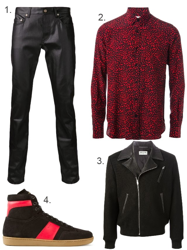 His and Hers Head-to-Toe Saint Laurent