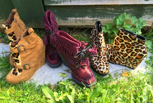 Help! I'm Addicted to a Garish Wedged-Heeled Boot