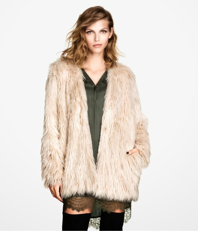 Want it on Wednesday: This Fake Fur Jacket