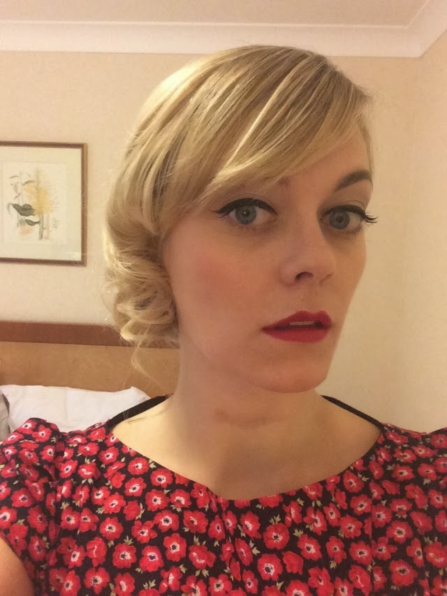 50s-Style Shenanigans: Winged Liner, Red Lips and Petticoats