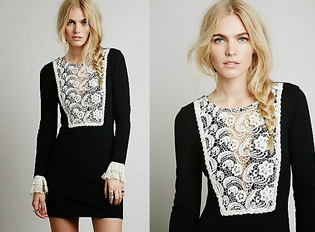 Want it on Wednesday: This Chic Wednesday Bib Dress