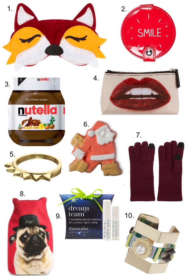Christmas Gift Guide: 10 Under £10