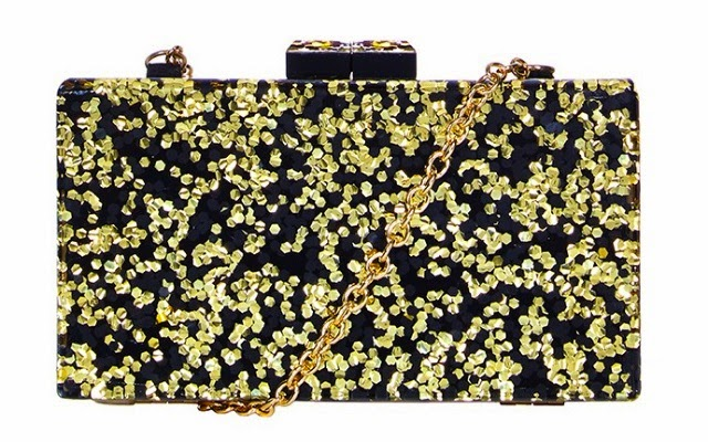 Want it on Wednesday: Glitter Box Clutch