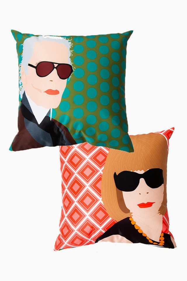 Want it on Wednesday: Karl and Anna Reversible Throw Cushion