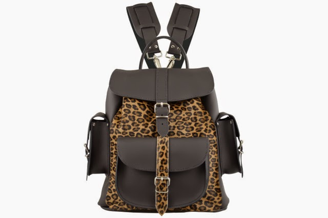Want it on Wednesday: Grafea Purfect Leather Backpack
