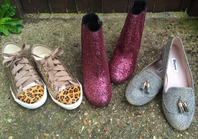 Because Everyone Needs Glitter Shoes