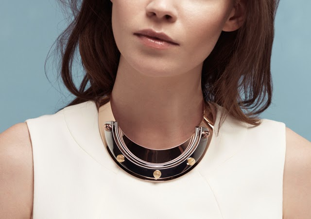 Want it on Wednesday: The Metallic Choker I'm Missing
