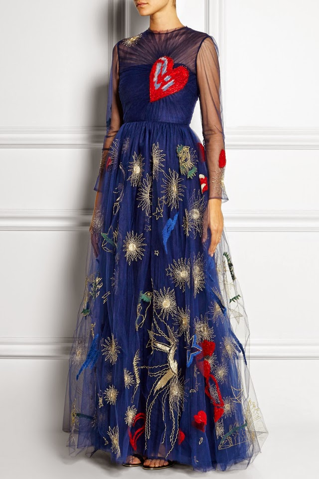 The Valentino Embroidered Gown I Want to Twirl in Forever