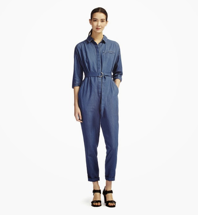 I Want a Denim Boiler Suit