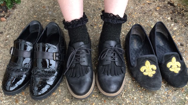 My 3 Go-To Black Flats