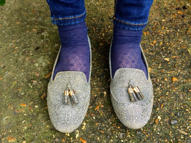 The Day I Wore Sparkly Shoes to Work