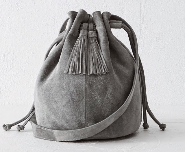 Want it on Wednesday: The Softest-Looking Suede Duffle Bag