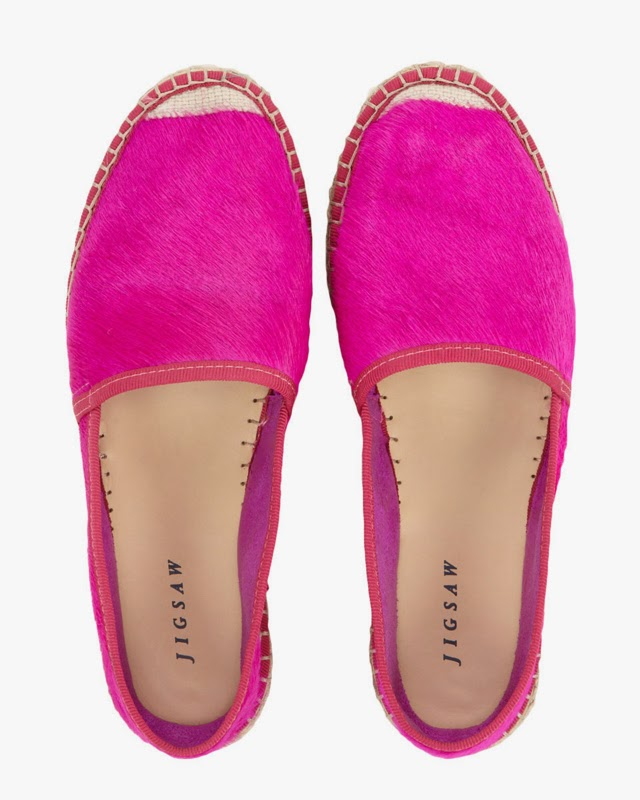 Want it on Wednesday: Pink Furry Espadrilles