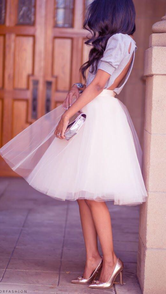 It's All About the Tulle Skirt