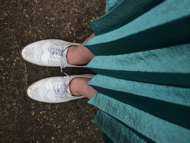 The Day I Wore Patent White Brogues to Work