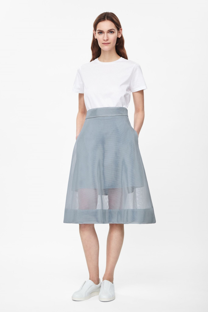 Want it on Wednesday: Technical Mesh Skirt