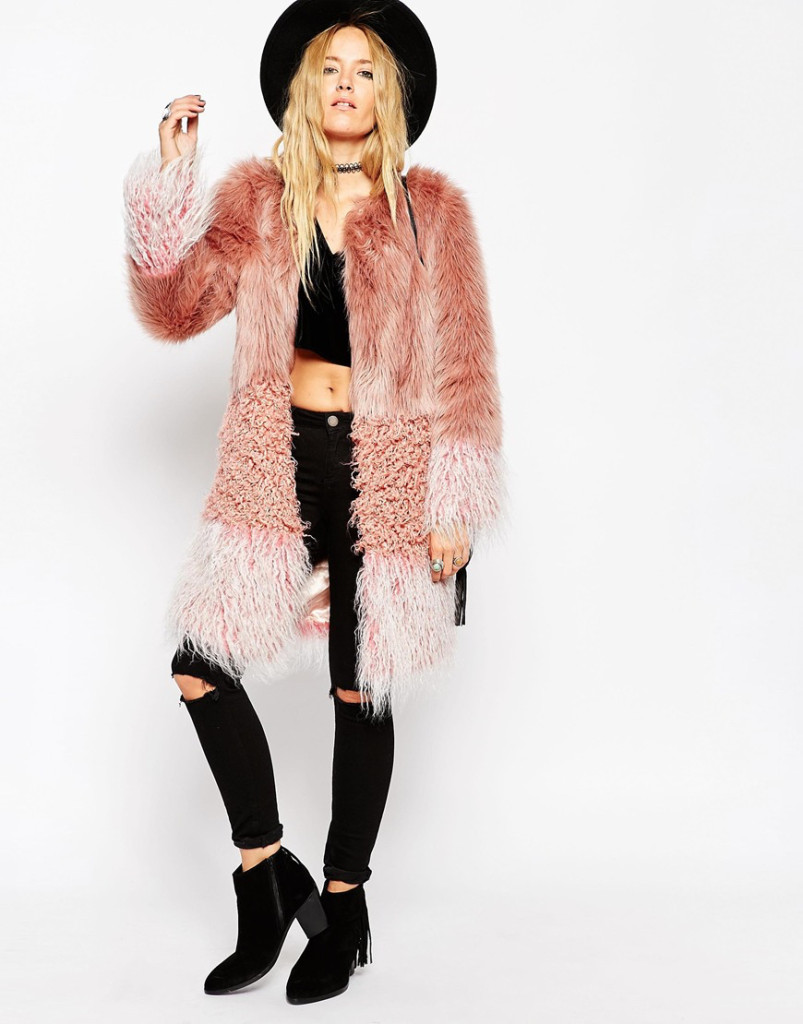 Want it on Wednesday: The Patch Faux Fur Coat That's Missing From My Wardrobe