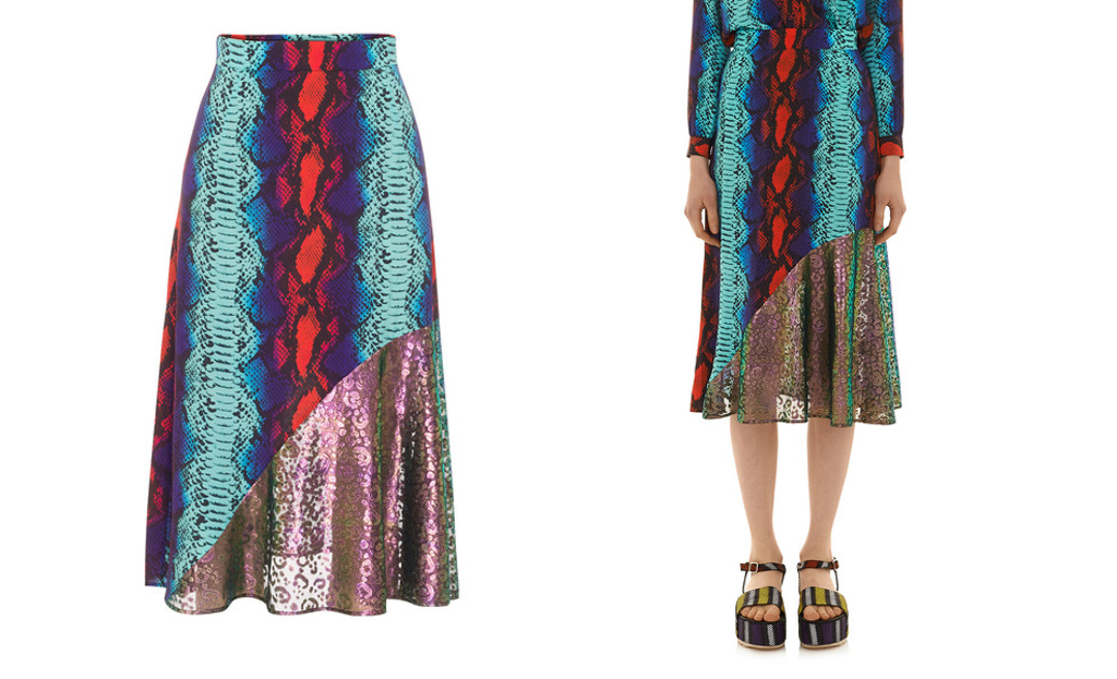 To Buy or Not to Buy: House of Holland Surf Skirt in Blue Snake