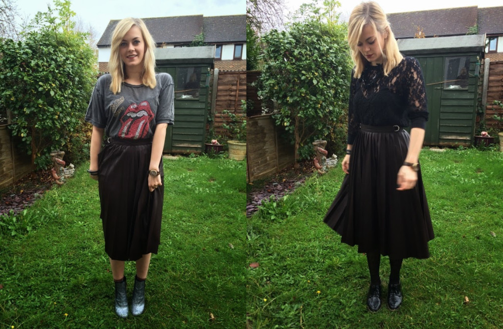 An Ode to My Pleated Midi Skirt