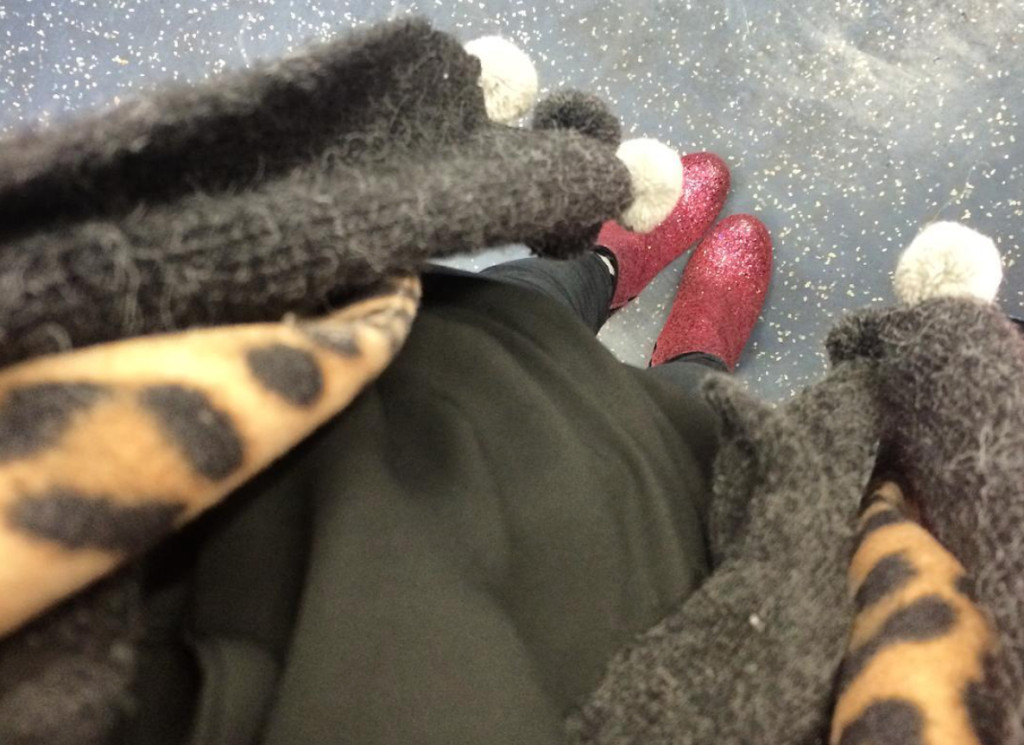 The Day I Wore Red Glitter Boots to Work