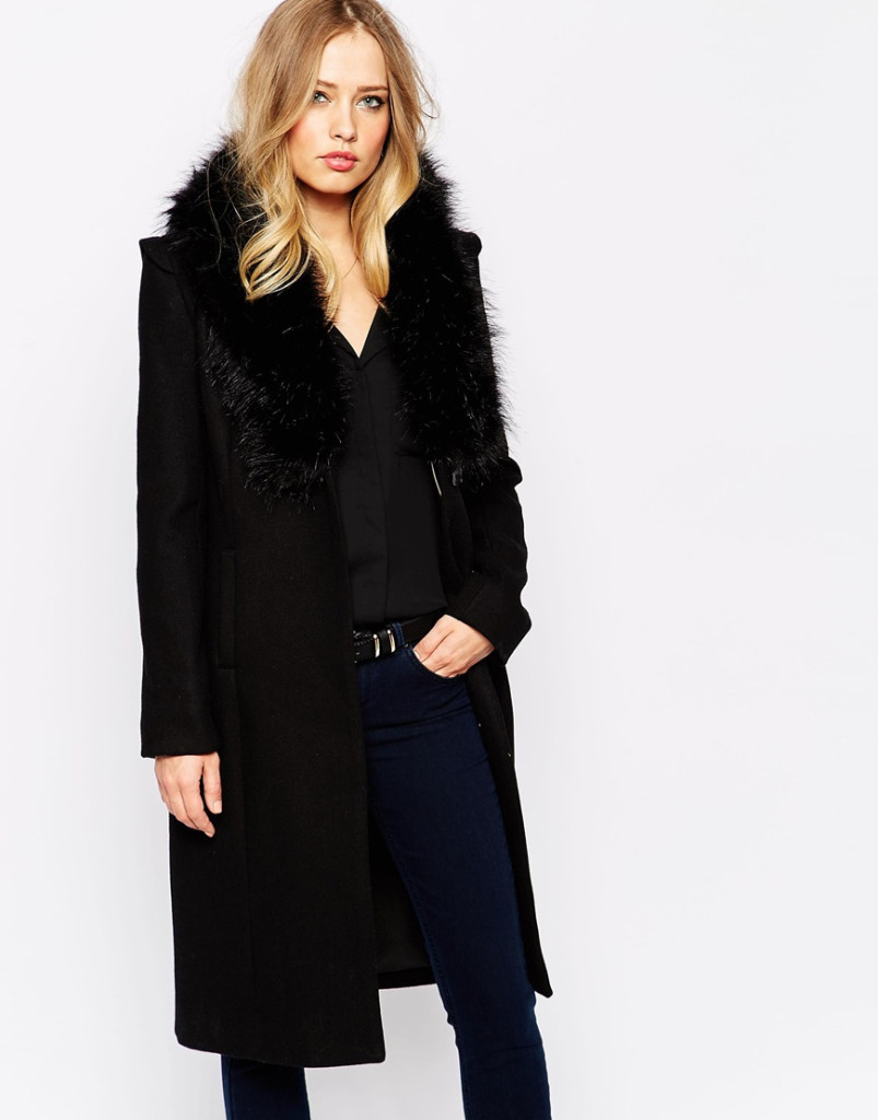 My Dream Winter Coat, Faux-Fur Collar and All