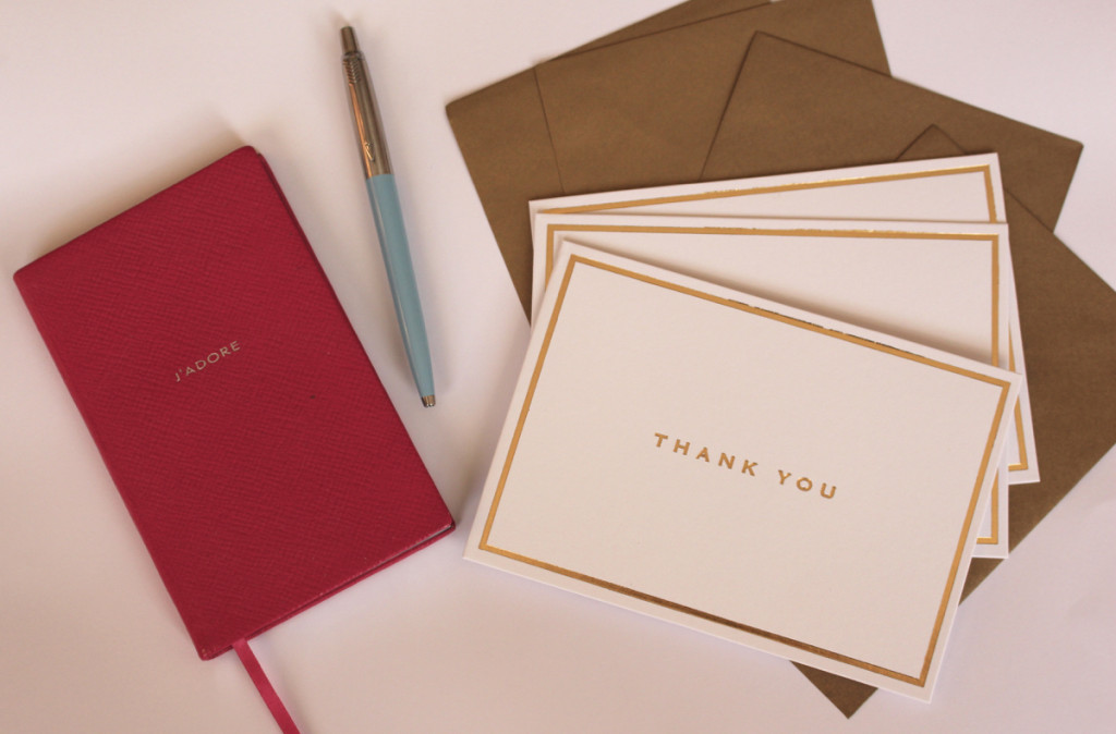 Why I Still Love to Send Thank You Cards