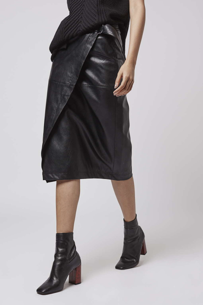 Gimme the Pleather Skirt Now