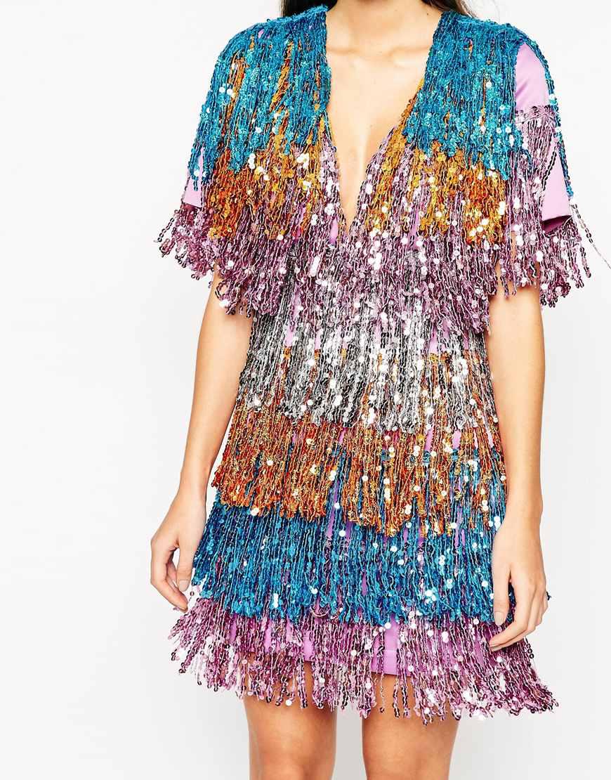 asos-sequin-fringed-dress