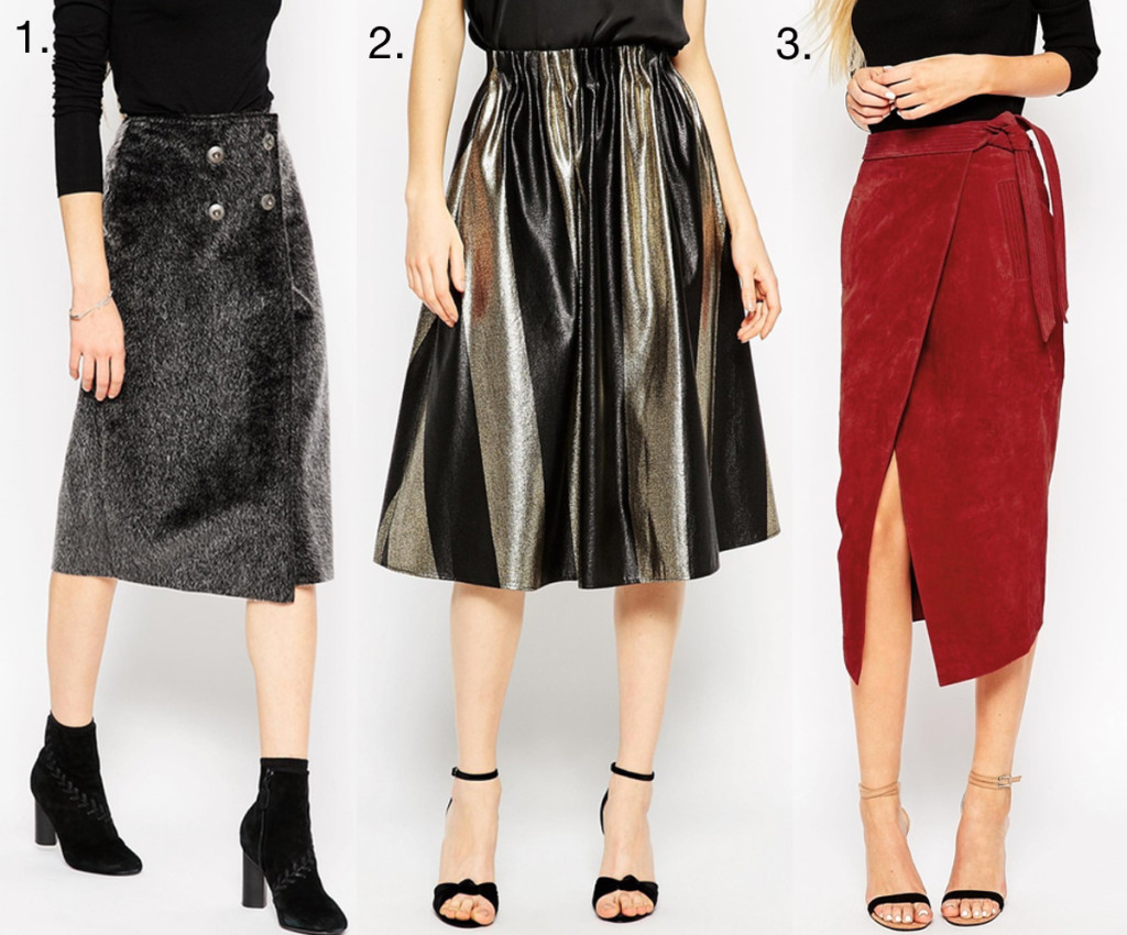 3 ASOS Skirts with ALL the Texture