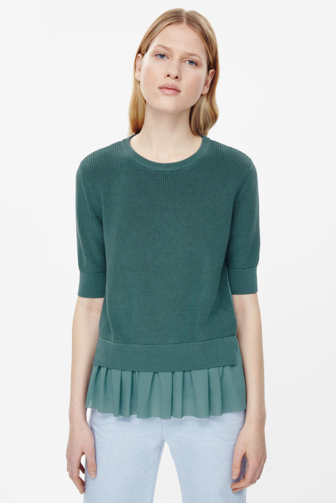 Want it on Wednesday: When Knits and Ruching Collide