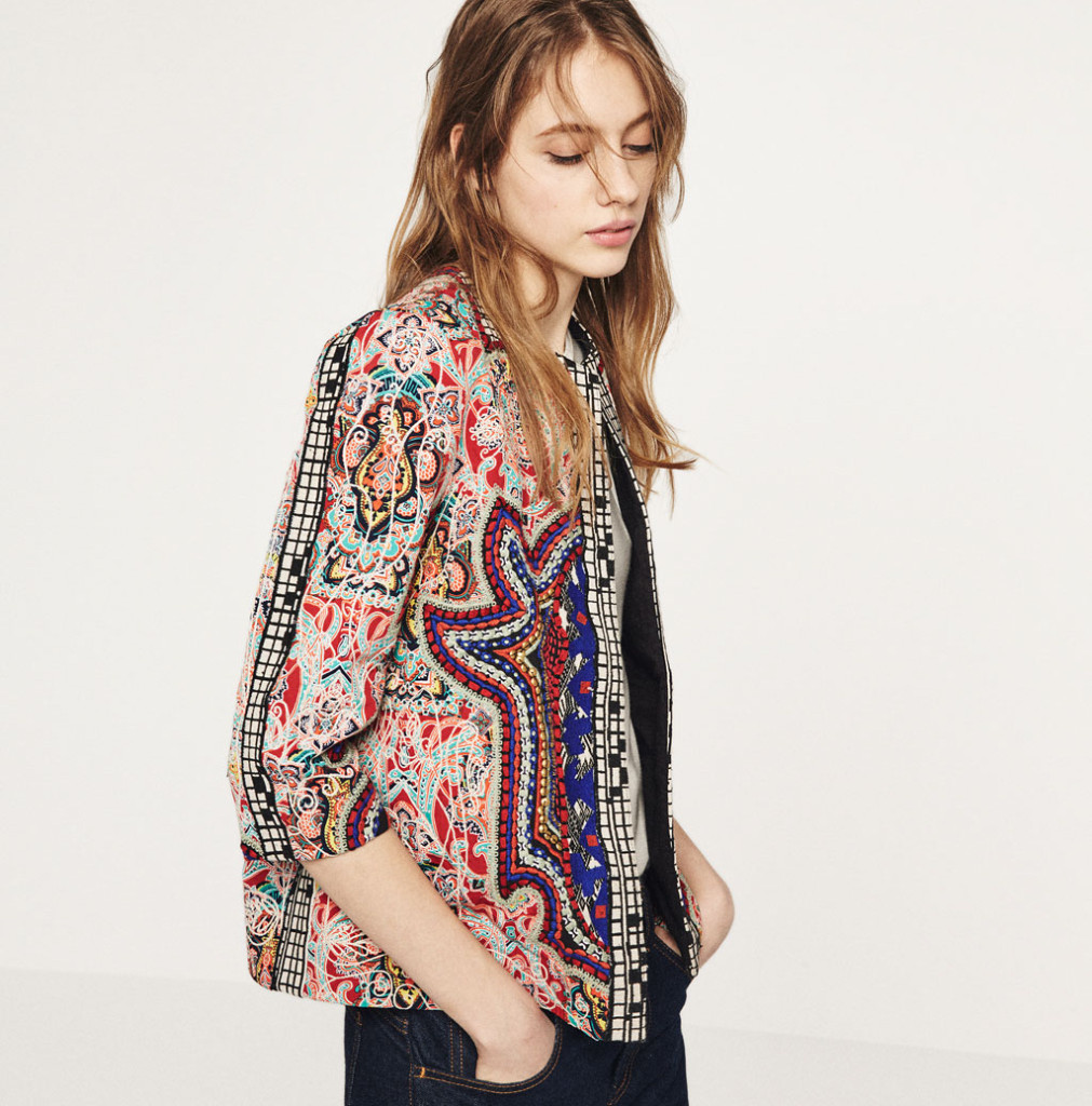 Want it on Wednesday: Zara's New-Season Embroidered Jacket