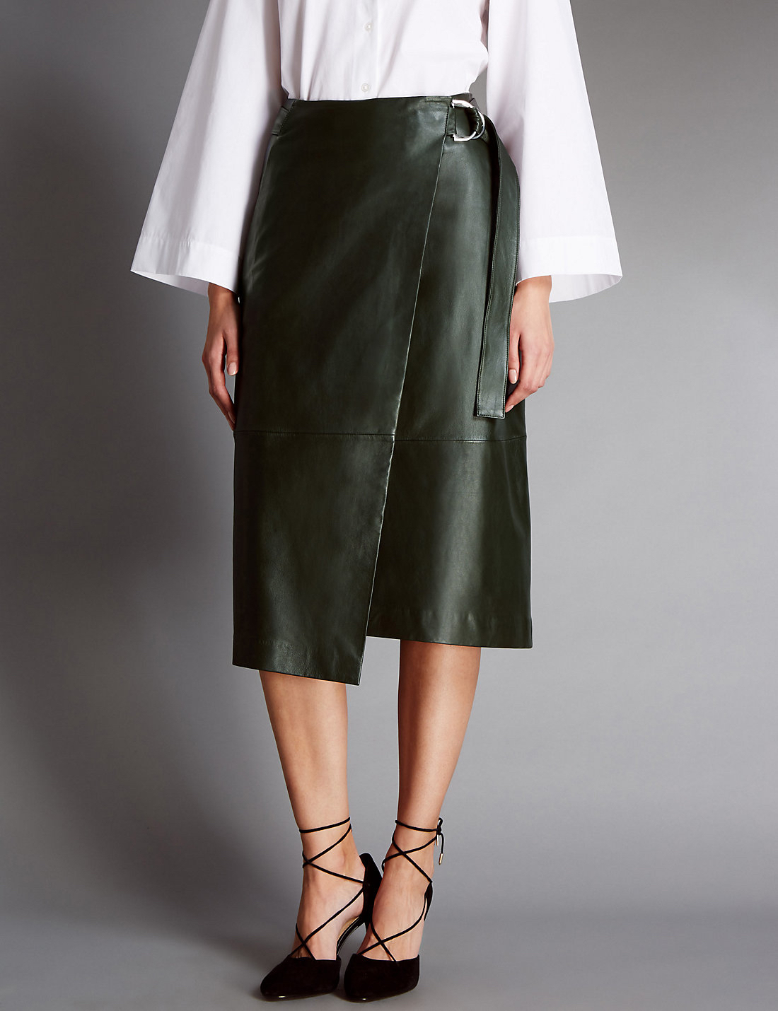 marks-and-spencer-leather-skirt